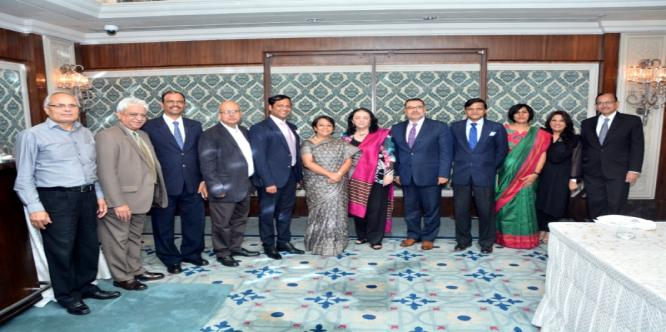 Dinner hosted by Director General, ICCR in honour of Dr. Nucrecia Mendez De Pendo, Vice President, Academic Refael Landivar, University of Guatemala