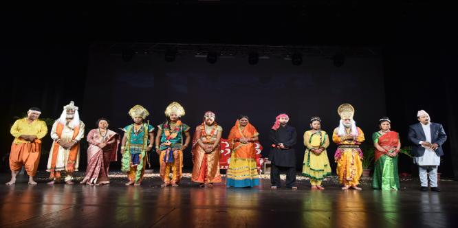 """3- days International Ramayana Festival organized by ICCR at Kamani Auditorium, New Delhi from 11-13 September 2017"""