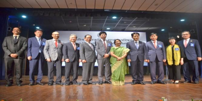 DG, ICCR with the High Power Delegation from South Korea