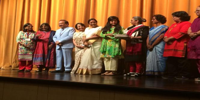 Release of Souvenirs of IWPC in a cultural Programme supported by ICCR on 20 November 2017