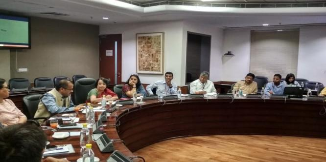 DG, ICCR chaired a meeting held today with the resident commissioners of all the state government. The meeting discussed welfare of foreign students