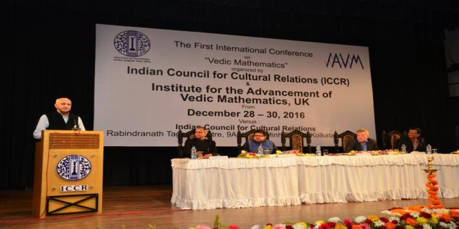 वैदिक गणित पर पहले अंतर्राष्ट्रीय सम्मेलन, भारतीय सांस्