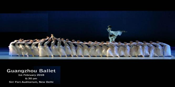 Guangzhou Ballet 1st Feb 2018 at Sri Fort Auditorium
