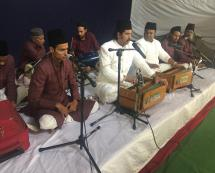 Artists performing during Programme Bazm-E-Urdu on 2nd May 2019