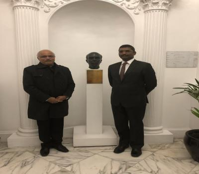 President ICCR visit to London! Visited Nehru Centre, briefly reviewed ......